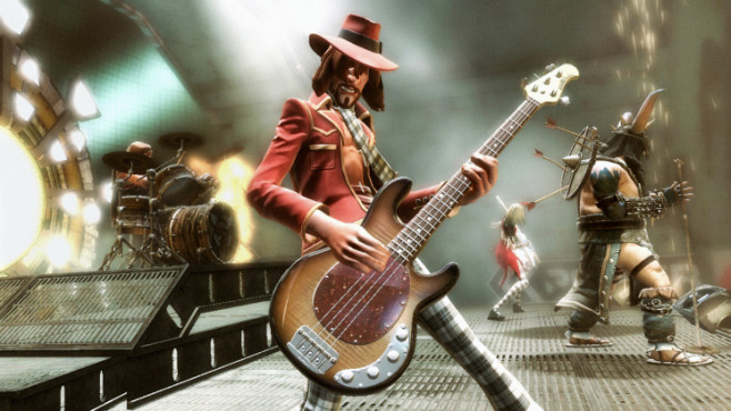 Musikspiel Guitar Hero 5: Bassist