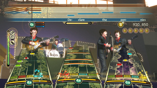 Musikspiel The Beatles – Rock Band: Band