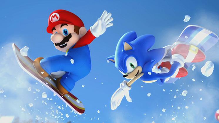 Mario Sonic Olympischen Winterspielen Frische Screenshots Bilder