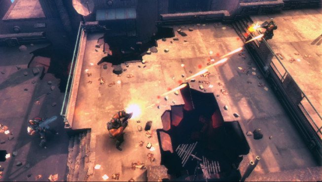 Actionspiel Army of Two – The 40th Day: Aggro