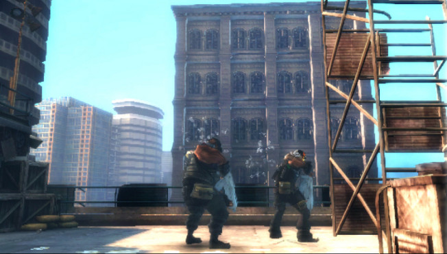 Actionspiel Army of Two – The 40th Day: Dach