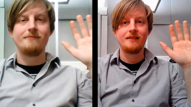 Vergleich: Eingebaute Kamera und USB-Kamera©COMPUTER BILD, MEDION, RAZER