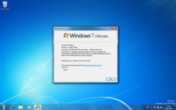 Windows 7: neue Taskleiste