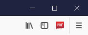 Screenshot 1 - WebToPDF für Firefox