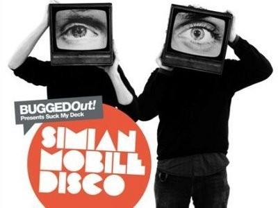 CD-Cover: Simian Mobile Disco – Suck My Deck