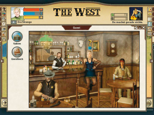 Browser-Spiele: The West