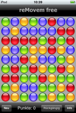 10 tolle iPhone-Spiele zum Nulltarif reMovem free: Spielfeld abräumen ©10 tolle iPhone-Spiele zum Nulltarif reMovem free: Spielfeld abräumen