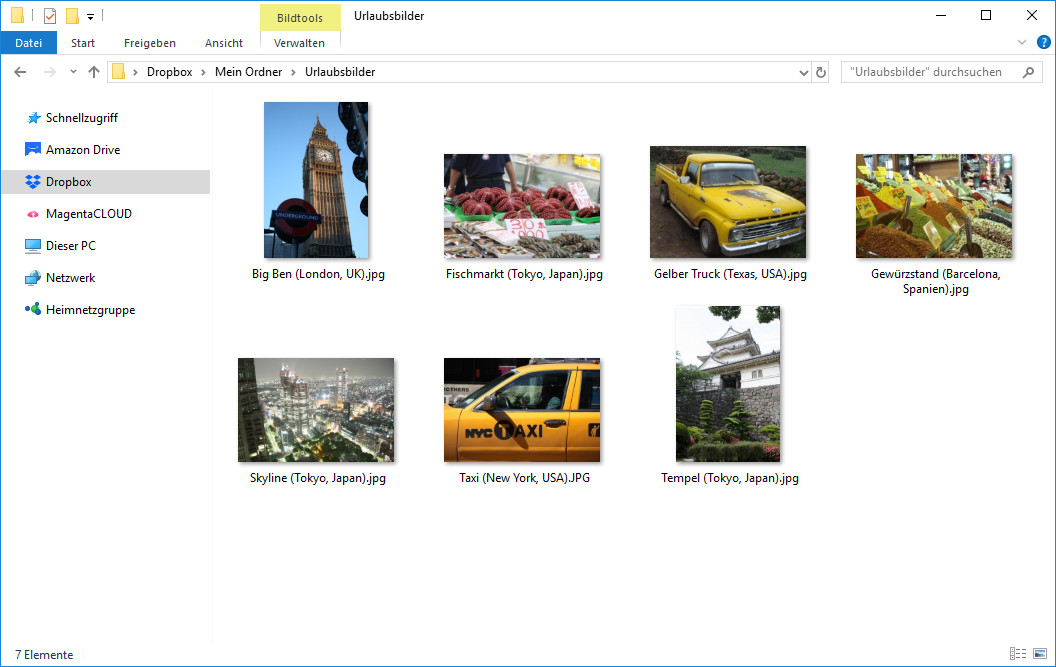 Screenshot 1 - Dropbox