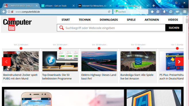 Firefox Theme: Blue Flow © Sinine
