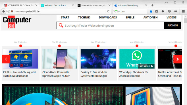 Firefox Theme: Brushed Metal - XP © ntpl