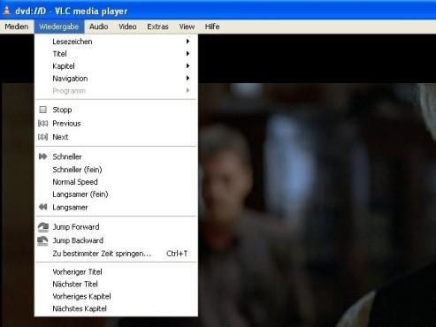 VLC Media Player: Bedienung