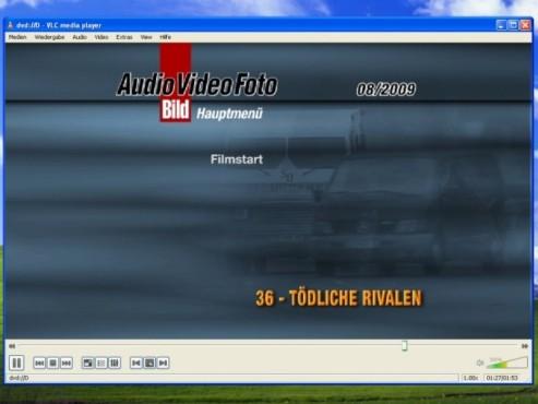 VLC Media Player: DVD-Menü