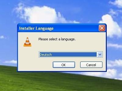 VLC Media Player: Sprache