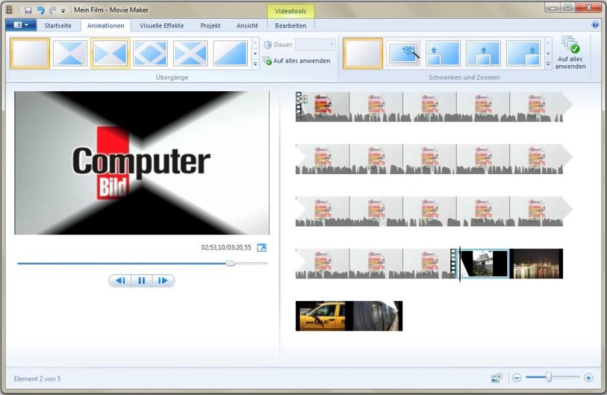 untertitel windows movie maker