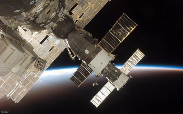 Blick aus dem Fenster - von NASA ©NASA