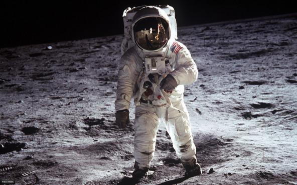 Buzz Aldrin auf dem Mond - von NASA ©NASA