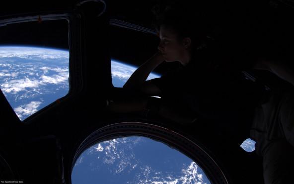 Cupola-View - von Expedition 24 Crew, NASA ©Expedition 24 Crew, NASA