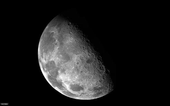 Der Mond - von NASA ©NASA