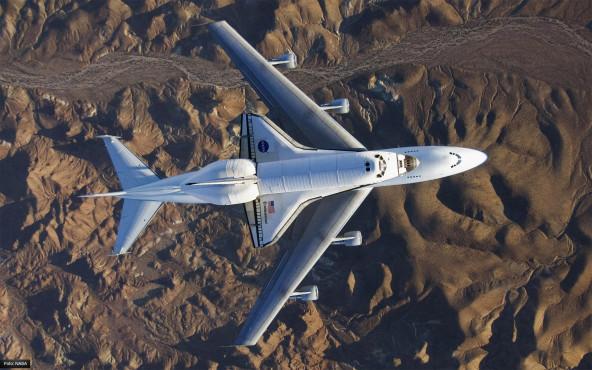 Die Heimreise - von NASA/Carla Thomas ©NASA/Carla Thomas