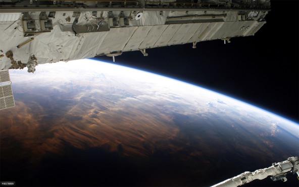 Die Welt im rechten Licht - von NASA ©NASA