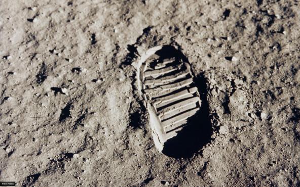 Ein kleiner Schritt - von NASA ©NASA