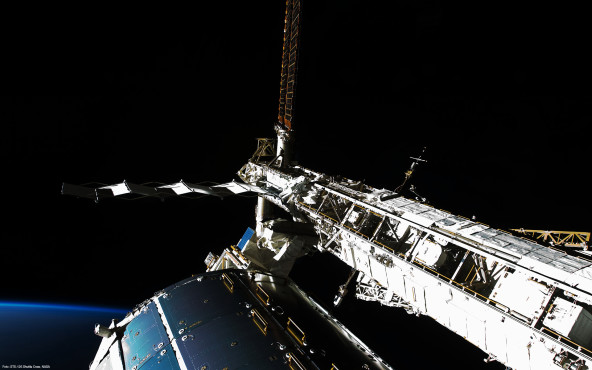 Find the Astronaut  - von STS-126 Shuttle Crew, NASA ©STS-126 Shuttle Crew, NASA