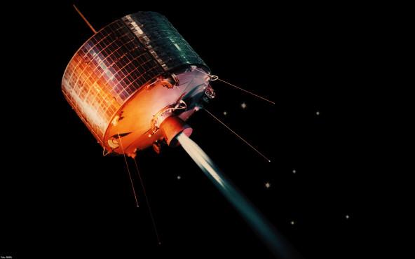 Geosynchron-Satellit - von NASA ©NASA