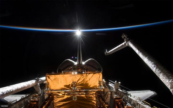 Heimkehr - von NASA ©NASA