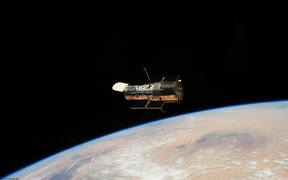 Hubble-Teleskop - von STS-125 Crew, NASA ©STS-125 Crew, NASA