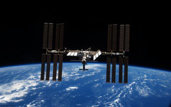 ISS - von STS-119 Shuttle Crew, NASA ©STS-119 Shuttle Crew, NASA