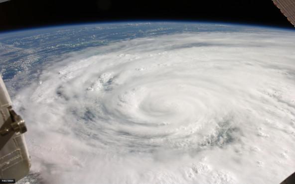 Ike geht an Land - von NASA ©NASA