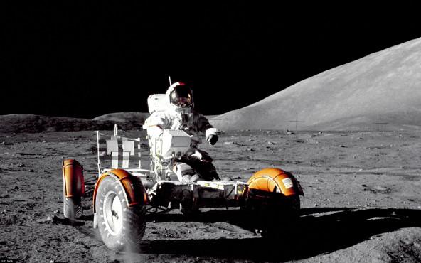 Mond-Buggy - von NASA ©NASA