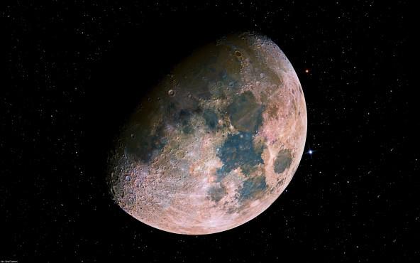 Mond-Mosaik - von Noel Carboni ©Noel Carboni