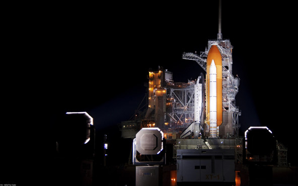 Raketenstart - von NASA/Troy Cryder ©NASA/Troy Cryder