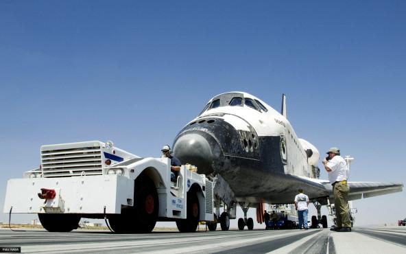 Rückkehr - von NASA/Tony Landis ©NASA/Tony Landis