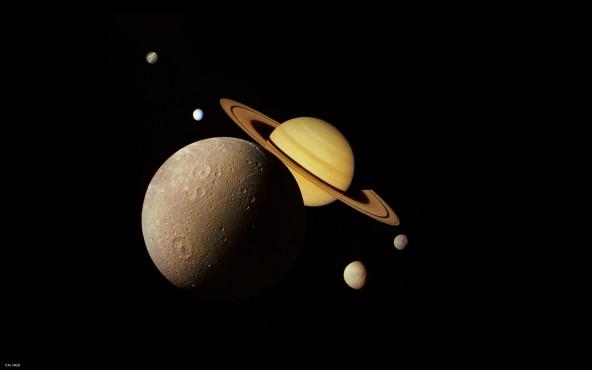 Saturn - von NASA ©NASA
