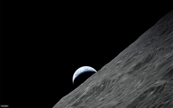 Sichelförmige Erde - von NASA ©NASA