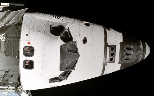 Spaceshuttle-Rumpf - von NASA ©NASA