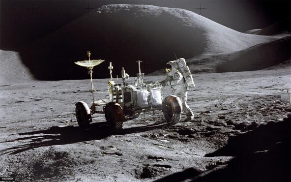 Spaziergang auf dem Mond - von NASA ©NASA