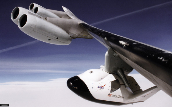 X-38 - von NASA/Jeff Doughty ©NASA/Jeff Doughty