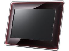 ifa digitaler fotorahmen samsung spf 107h computer bild. Black Bedroom Furniture Sets. Home Design Ideas