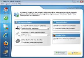 Ashampoo Internet Accelerator – Kostenlose Vollversion