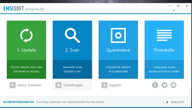 Malware entfernen: Emsisoft Emergency Kit ©COMPUTER BILD