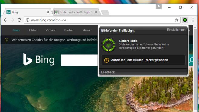 Webseiten-Sicherheit prüfen: Bitdefender TrafficLight für Firefox und Chrome ©COMPUTER BILD