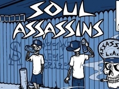 CD-Cover: Soul Assassins – Intermission