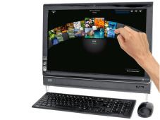 PC mit Touchscreen: HP TouchSmart