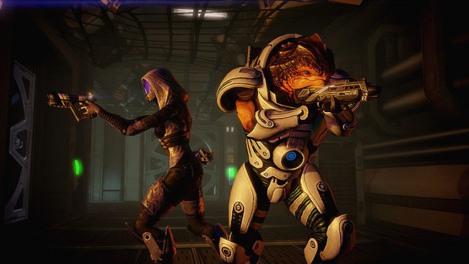 Rollenspiel Mass Effect 2: Quarianer