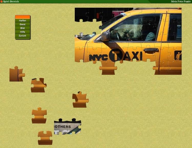 Screenshot 1 - Mein Foto Puzzle