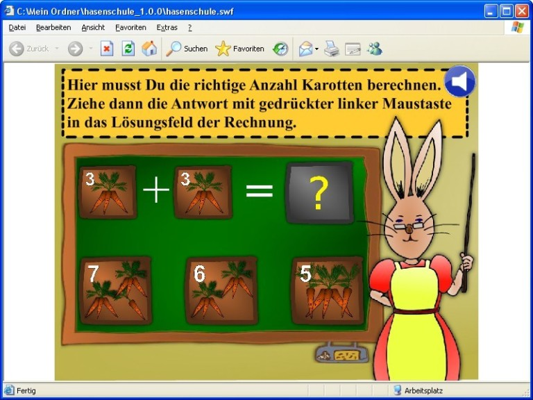 Screenshot 1 - Hasenschule