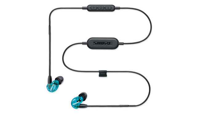 Shure SE215 Wireless © Shure